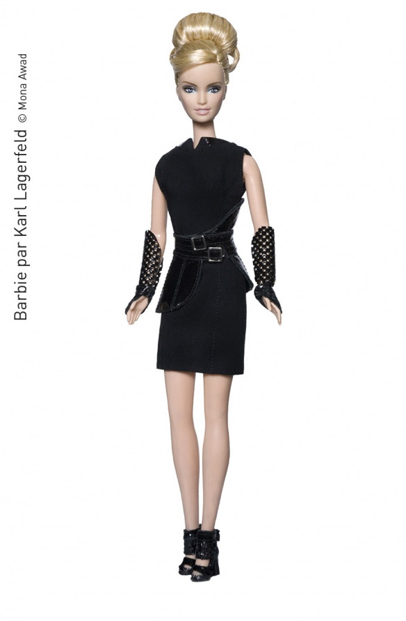 Muñeca Barbie Lagerfeld
