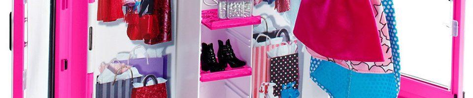 Comprar armario de ropa para la Barbie barato